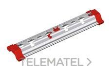 Suspensión Omega SPLUS para montaje a techo con varilla de bandejas de rejilla Rejiband® y bandejas de chapa Pemsaband®, de 100 mm de ancho, en acero, acabado sendzimir PG. con referencia 63022104 de la marca PEMSA.