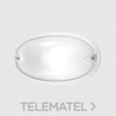 Aplique CHIP OVALE 30 E27 blanco con referencia 005780 de la marca PERFORMANCE IN LIGHTING.