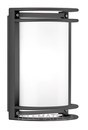 Aplique exterior NIKKO+ 27 E27 100W antracita opaco con referencia 002032 de la marca PERFORMANCE IN LIGHTING.