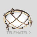 Aplique pared TARTARUGA TONDO 200 1x75W E27 con referencia 007603 de la marca PERFORMANCE IN LIGHTING.