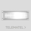 Luminaria exterior empotrable INSERT2 1x18W 2G11 blanco con referencia 007364 de la marca PERFORMANCE IN LIGHTING.