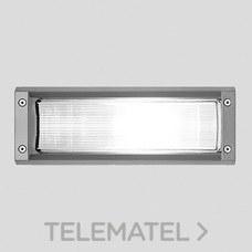 Luminaria exterior empotrable INSERT2 1x60W E27 gris metálico con referencia 007354 de la marca PERFORMANCE IN LIGHTING.