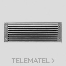 Luminaria exterior empotrable INSERT2 GO 1x60W E27 gris metálico con referencia 007355 de la marca PERFORMANCE IN LIGHTING.
