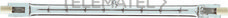 PHILIPS 49434401 Lámpara halógena Plusline 230V 1000W R7S
