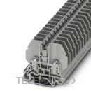 BORNE PASO RSC4 TECNICA/O CONEXION ESPARRAGO 16,3mm GRIS con referencia 3058127 de la marca PHOENIX.