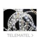Luminaria decorativa FLEXILIGHT maxi brillo 50m 60 LEDs 230V blanco con referencia 210706 de la marca PRILUX.