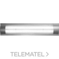 LUMINARIA FLATLINE TUBO LED 2x18W BASIC 120 BLANCO con referencia 208512 de la marca PRILUX.