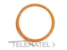 PROIMAN 750010 Guía pasacables poliéster monofilamento helicoidal 4,5mmx10m