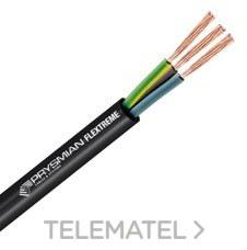 CABLE BUPRENO H07RN-F 450/750V 3G1 con referencia 20031909 de la marca PRYSMIAN.