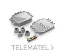 Caja conexiones con gel IP68 120x100x50 hasta 5x6mm2 con bloque de conectores con referencia READYBOX de la marca RAYTECH.