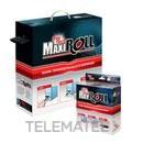 FUNDA TERMORRETRACTIL DIAMETRO 4,80/2,40mm NEGRO (ROLLO 150m) con referencia MAXIROLL-4.8 de la marca RAYTECH.