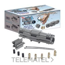 RAYTECH RAYKJOINTL6 Torpedo gel conexión recta hasta 5 cables 1,5-6mm²