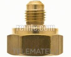 """ACOPLAMIENTO MACHO-HEMBRA STA 1/4"""" SAEx1/2"""" GAS con referencia 467.01.8525 de la marca REMLE."""