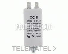 CONDENSADOR TRA STA 8,0mF 450V con referencia 070.00.0080 de la marca REMLE.