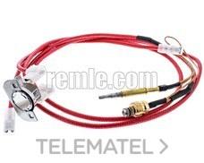 TERMOPAR CALDERA JUNKERS CON SONDA ROJO con referencia 300.45.0011 de la marca REMLE.