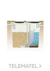 ESTACION DEPURADORA ROX 150 HABITANTE 2500x8700mm con referencia ROX150 de la marca REMOSA.