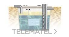 SEPARADOR HIDROCARBURO OBTURADOR CILINDRICO NS-20 4000l CE con referencia SHCO20CE de la marca REMOSA.