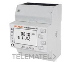 Contador de energía modular 1P+N 3P y 3P+N 100A Imp & Exp/kWh y kVArh RS485 + 2 SP con referencia SGM630M de la marca RETELEC.