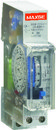 Interruptor horario modular electromecanico 1 modulo 230VAC reserva 70h con referencia SGTM-180 de la marca RETELEC.