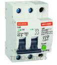Interruptor SGB6K industrial 2P 20A curva D 6kA con referencia SGB6K2D20 de la marca RETELEC.