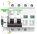 Protección combinada IGA 2P 40 sobretensión permanente con reconexión automática y sobretensiones transitorias con referencia MT53UVTY6302C40 de la marca RETELEC.