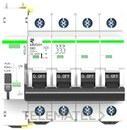 Reconectador automatico compacto 4P 63A 10kA 90mm curva C con referencia MT53RA4C63 de la marca RETELEC.