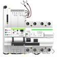 Reconectador GPRS diferencial 2P 63A 30mA con referencia MT52RG2A063300 de la marca RETELEC.
