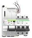 Reconectador GPRS magnetotermico curva C 2P 63A con referencia MT52RG2C63 de la marca RETELEC.