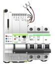 Reconectador GPRS magnetotermico curva C 3P 63A con referencia MT52RG3C63 de la marca RETELEC.