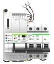 Reconectador GPRS magnetotermico curva C 4P 63A con referencia MT52RG4C63 de la marca RETELEC.