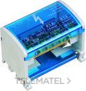 Repartidor de fases 4P 125A 11x5.3mm+2x7.5mm+2x9mm con referencia TB415 de la marca RETELEC.