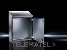 Armario compacto HD 1 puerta 810x1050x1221mm Hygienic Design con referencia 1316600 de la marca RITTAL.