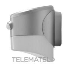ROBLAN LEDSOLCR2C Aplique CR-LED 2W placa solar +sensor +batería gris 3k