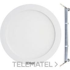 ROBLAN LEDPANEL12FB Downlight LED circular 12W 4000K 172x22mm aro blanco