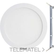 ROBLAN LEDPANEL6CB Downlight LED circular 6W 3000K 120x22mm aro blanco
