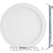 ROBLAN LEDPANEL6FB Downlight LED circular 6W 4000K 120x22mm aro blanco