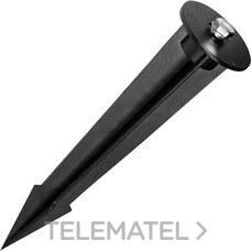 ROBLAN SPIKE1020 Pincho de suelo para proyectores de 10W y 20W TC negro