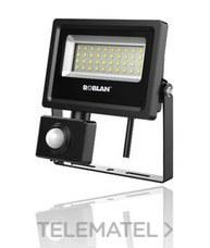 ROBLAN MHLX20BPIR Proyector LEDxSENSOR SMD 20W 6500K 2600lm 100-240V IP65