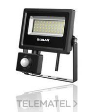ROBLAN MHLX30BPIR Proyector LEDxSENSOR SMD 30W 6500K 3900lm 100-240V IP65
