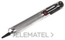 BOMBA DESOLDADURA 190mm ESTANDAR ALUMINIO ANTIESTATICO BOQUILLA TEFLON con referencia 557-878 de la marca RS PRO.