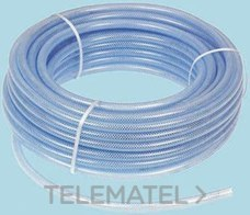 TUBO FLEXIBLE PET REFORZADO 100mm PVC TRANSPARENTE 25m con referencia 368-0227 de la marca RS PRO.