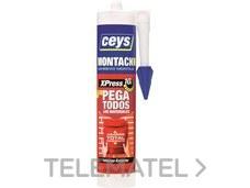 Adhesivo CEYS MONTACK XPRESS cartucho 450g con referencia AI20317 de la marca SALVADOR ESCODA.