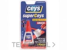 Adhesivo instantáneo SUPERCEYS UNICK pincel 5g con referencia AI20303 de la marca SALVADOR ESCODA.