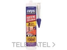 Adhesivo total TECH cartucho 290ml blanco con referencia AI20312 de la marca SALVADOR ESCODA.