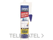 Adhesivo total TECH cartucho 290ml transparente con referencia AI20314 de la marca SALVADOR ESCODA.