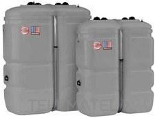 Depósito dentro Depósito 1000l plástico gris con referencia GA05230 de la marca SALVADOR ESCODA.