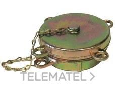 """Tapón cisterna para deposito doméstico rosca 2x2-1/2"""" con referencia GA02025 de la marca SALVADOR ESCODA."""