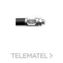 Acoplamiento F2000 flexible doble trenza sin boquilla con referencia 140200 de la marca SAMOA.