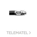 Acoplamiento F290 flexible doble trenza sin boquilla con referencia 140020 de la marca SAMOA.