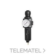 """Regulador ATRF1 filtro combinación 1/4"""" HH1/4""""G con referencia 240500 de la marca SAMOA."""